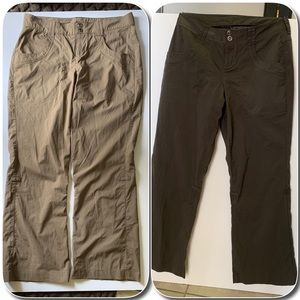 Pair of REI Hiking Roll-Up Pants